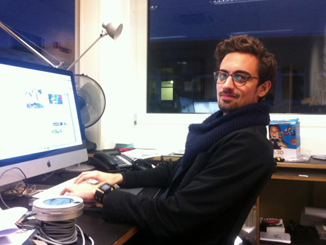 Der ehemalige Student Christoph