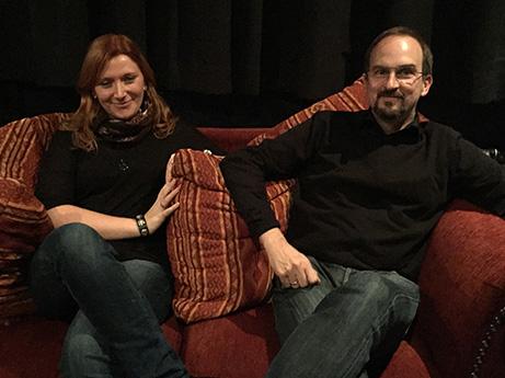 Sara Antes und Felix Neuland von NEUALNDHERZER zu Gast im Campuskino