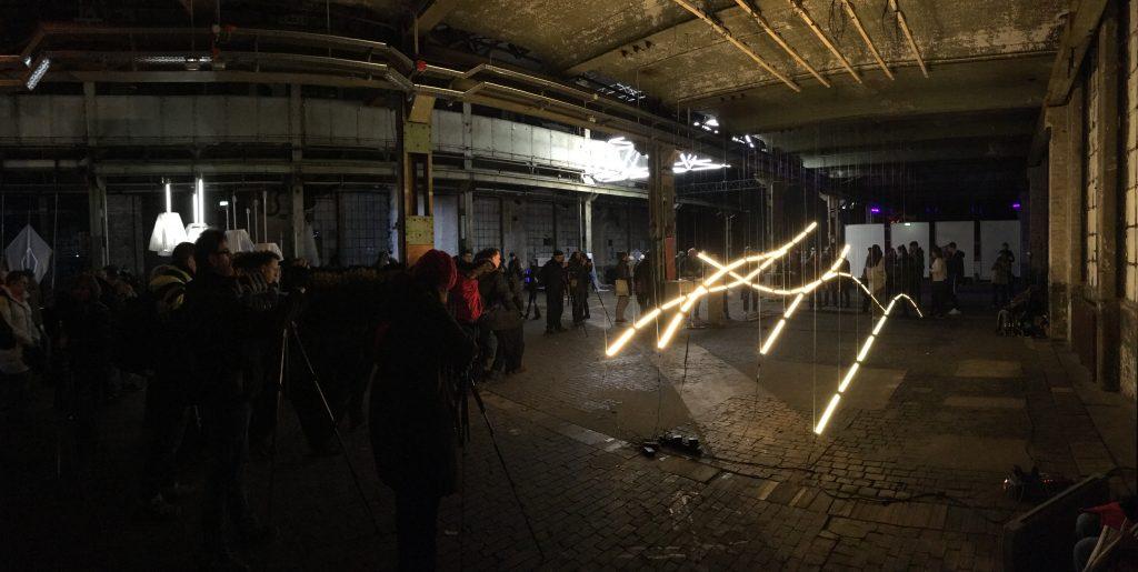 Lys Installation auf der Luminale