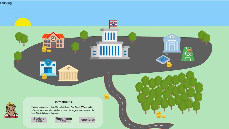 U-Tax simuliert die Schwierigkeit der kommunalen Geldervergabe