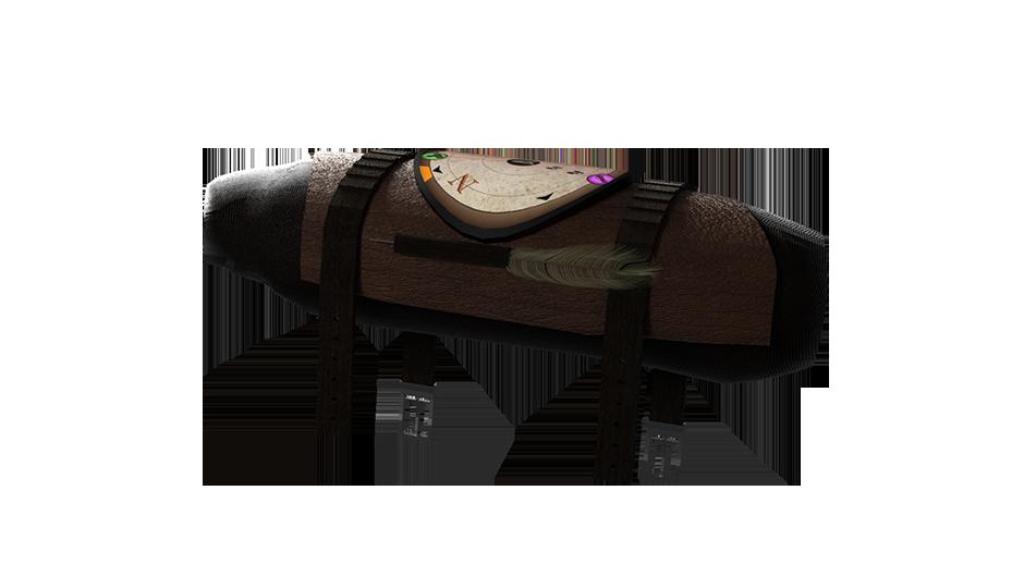 Abbildung eines Adventure-Logs von der Seite