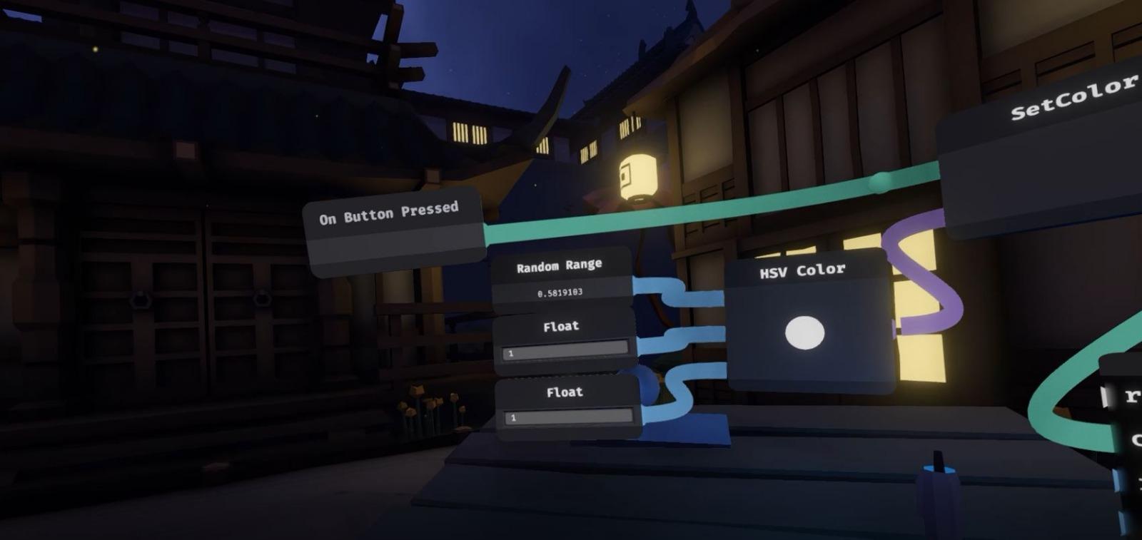 Eine Funktion, die die Farbe eines Objektes ändert.