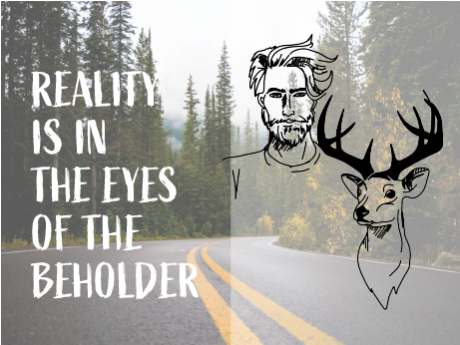 Reality is in the Eyes of the Beholder