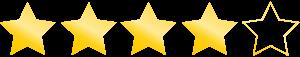 Bewertung 4 von 5 Sternen für Denkmotor