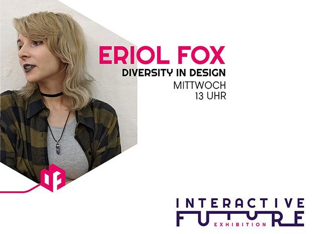 Vortrag Eriol Fox: Diversity in Design