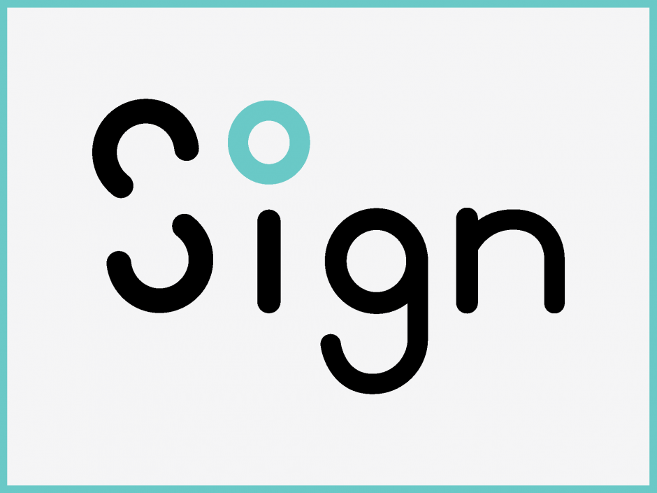 Das Sign-Car (erstes Konzept) mit visuellen Elementen zum Ausdruck von Mimik und Gestik für die Interaktion mit Fußgängern.