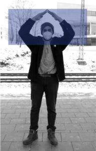 """""""Auflösen""""-Geste"""