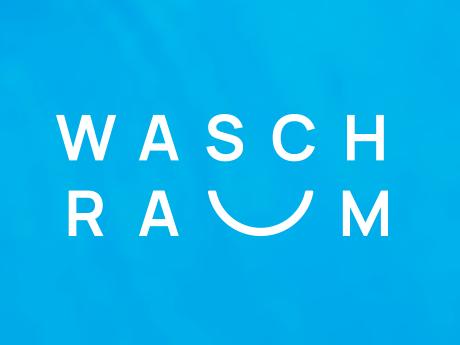 Logo aus dem Wort Waschraum