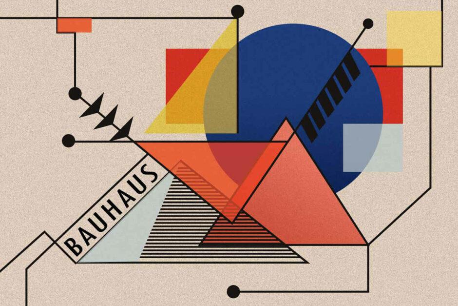 Bild im Bauhaus Stil