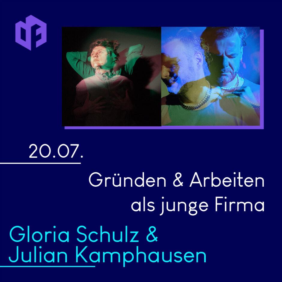 Gloria Schulz & Julian Kamphausen werden am 20. Juli einen Gastvortrag auf der IF-Exhibition halten
