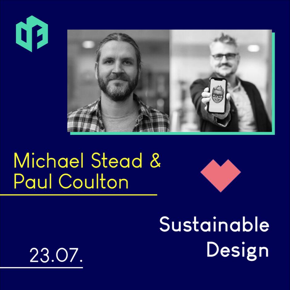 Michael Stead & Paul Coulton werden am 23. Juli einen Gastvortrag auf der IF-Exhibition halten