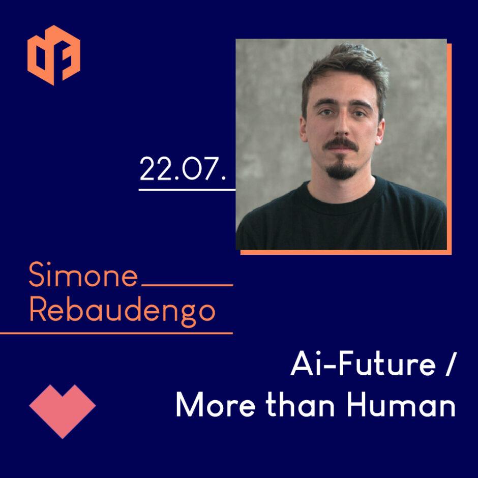 Simone Rebaudengo wird am 22. Juli einen Gastvortrag und Workshop auf der IF-Exhibition halten