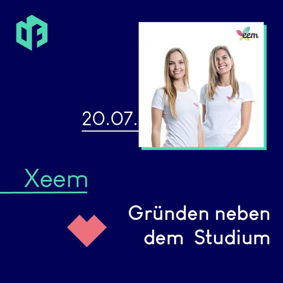 Xeem wird am 20. Juli einen Gastvortrag und Workshop auf der IF-Exhibition halten